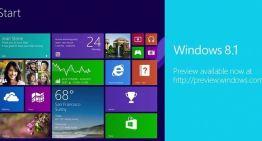 Windows 8.1 Preview ya está disponible