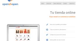 openshopen: herramientas gratuita para crea una tienda virtual con sistema de pago incluido