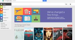 Google Play renueva su interfaz para la versión web