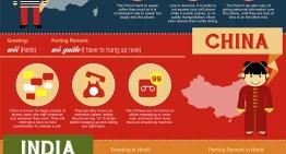 Infografía: Reglas de etiqueta para hablar por teléfono en distintos países