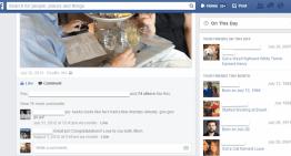 """Facebook comienza las pruebas de la nueva pestaña """"En este día"""""""