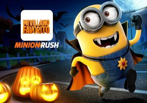 Mi Villano Favorito Minion Rush Halloween