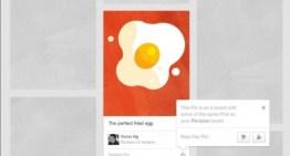 Pinterest presenta los pins recomendados