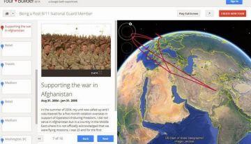 Tour Builder: el proyecto de Google para relatar historias de viajes a través de Google Earth