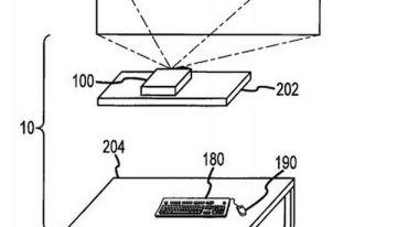 Le otorgan patente a Apple sobre computadora de escritorio con proyector incluido