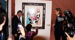 María Elena y Carlos Slim Domit invitan a Romero Britto a ser el primer artista vivo en exhibir en el Museo Soumaya