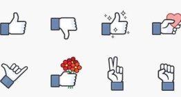 Facebook lanza set de stickers gratuitos Messenger, basado en el icono Me Gusta
