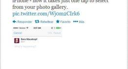Twitter facilita la inclusión de fotos en los tweets en su app para iPhone
