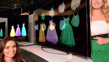LG presenta el futuro de las pantallas con una TV que cambia su curvatura #CES2014