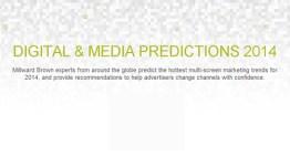 Millward Brown determina las doce tendencias digitales y de medios del 2014