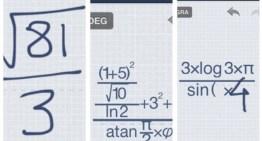 MyScript Calculator, app gratuita de cálculo que reconoce operaciones dibujadas con el dedo
