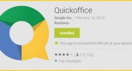 Google eliminará QuickOffice de las tiendas de apps Apple y Google Play