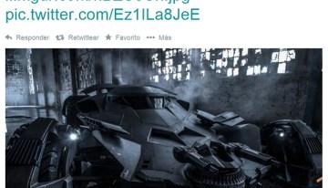 Zack Snyder presenta oficialmente el Batimóvil que usará en Batman V Superman