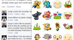 Desde hoy los Facebook stickers se pueden agregar a comentarios de eventos, grupos y línea de tiempo