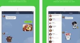 LINE estrena app para iPad