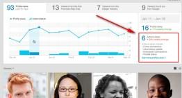 LinkedIn ahora indica las acciones de usuario que generan más participación y las visitas a su perfil