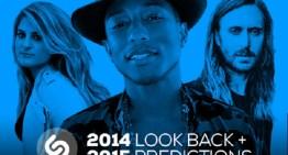 Shazam presenta su lista de los artistas más populares de 2014