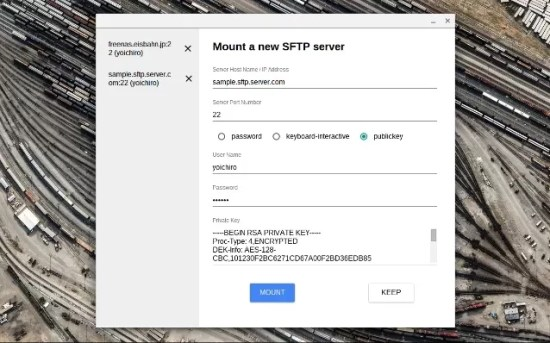 SFTP File System - Chrome Web Store
