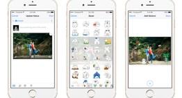 Facebook desde hoy permite pegar stickers sobre las fotos en sus aplicaciones para iOS y Android