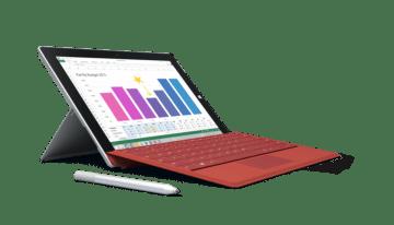 Microsoft presentó la nueva tableta Surface 3