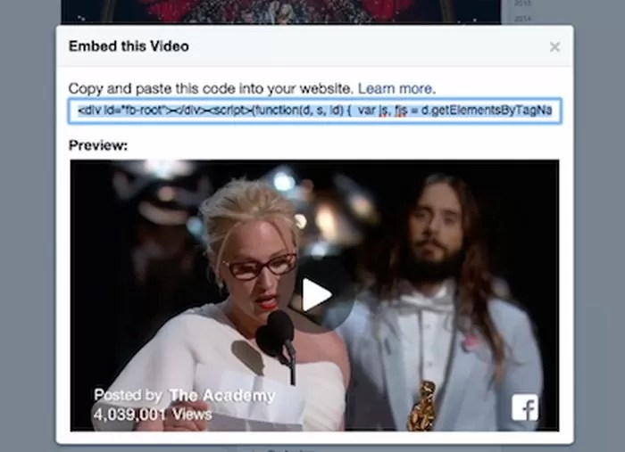 facebook-video-embed