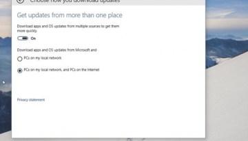 Técnicas de P2P serán usadas en Windows 10 para la descarga de actualizaciones