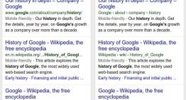 Google cambia la forma en la que se muestran los resultados de búsqueda en dispositivos móviles
