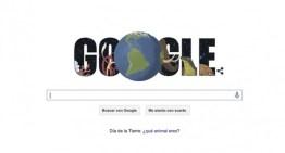 Google festeja el Día de la Tierra con nuevo doodle