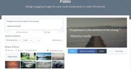 Pablo, complemento para Buffer que permite agregar texto y logos a las imágenes