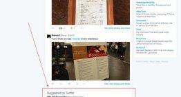 Twitter realiza pruebas de inserción de anuncios en la página del perfil de usuario