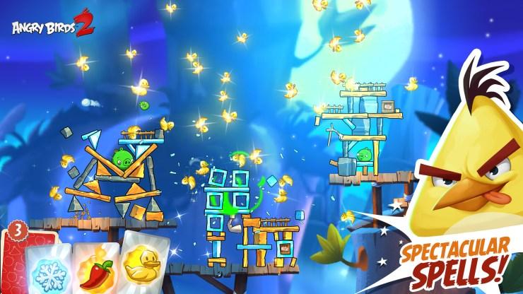 Angry Birds 2 screenshot_spectacular spells