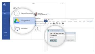 Google presenta el plugin de Google Drive para Microsoft Office en Windows
