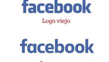 La actualización del logo de Facebook paso desapercibida para muchas personas