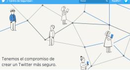 Presentan el nuevo Centro de Seguridad de Twitter