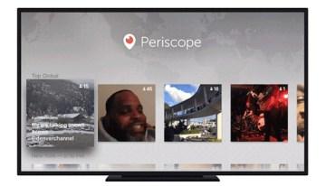 Periscope estrena aplicación para el nuevo Apple TV