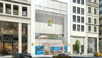 Microsoft Store abrió sus puertas en la Quinta Avenida de Nueva York