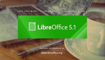 Ya esta disponible para descarga LibreOffice 5.1.0