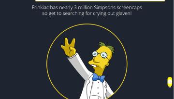 frinkiac, el sitio generador de memes de los Simpsons, ahora soporta archivos .GIF animados