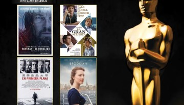 Cinemex inicia ciclo de películas nominadas a los Premios de la Academia