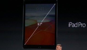 Apple prensentó el iPad Pro con pantalla de 9.7 pulgadas