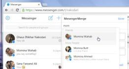 MessengerMerge, extensión para Google Chrome que permite enviar mensajes en Facebook Messenger a varias personas y sin crear grupos