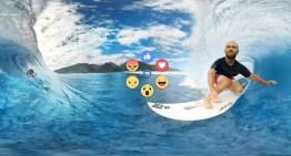 Ya podemos reaccionar a los videos en 360 grados en Facebook mientras utilizamos las Gear VR