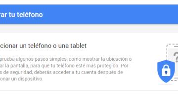 Google mejora Mi Cuenta y agrega la función Encuentra tu teléfono