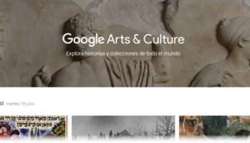 Google Arts & Culture, la forma más rápida de descubrir arte y cultura en todo el mundo