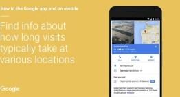 Google ya informa el tiempo que un usuario pasa en un determinado lugar
