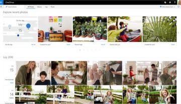 Actualización en Microsoft OneDrive permite la generación de álbumes automáticos, mejores búsquedas, y organización de fotos