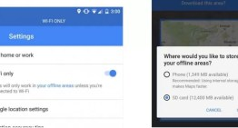 Google Maps ya permite guardar los mapas en la tarjeta SD de tu dispositivo