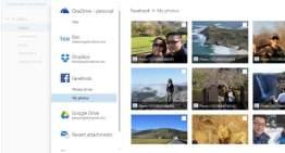 La versión web de Outlook desde hoy ya ofrece acceso a Google Drive y a las fotos de Facebook