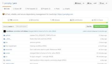 Yarn, el gestor de paquetes JavaScript de Facebook ahora es de código abierto