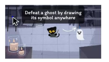 Halloween llega a Google mediante un juego de fantasmas